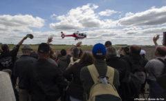 La BA 279 a accueilli près de 60 000 personnes autour d'aéronefs plus ou moins récents.