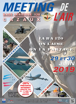 Meeting de l'Air 2019 Base Aérienne 120 CAZAUX