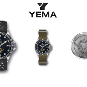 Montre YEMA - 5% du prix de vente reversé à la Fondation des Oeuvres Sociales de l'Air (FOSA)